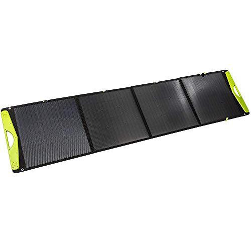 WATTSTUNDE SolarBuddy - Caja solar con tapa dura WSSB, módulo solar plegable directamente con conexión USB en el módulo, 200W