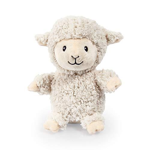 Bayer Design 69515AB-Laber Schaf Sonni Happy Sheep, Labertier, interaktives Plüschtier, sprechendes Schäfchen, bewegt den Kopf mit Aufnahme- und Wiedergabefunktion, lustige Geschenkidee