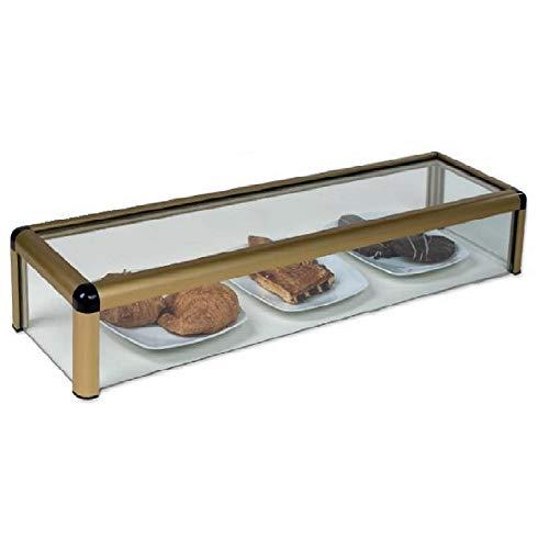 Vitrina expositora alimentos, ideal barra bar para los aperitivos, largo 1.000 mm.