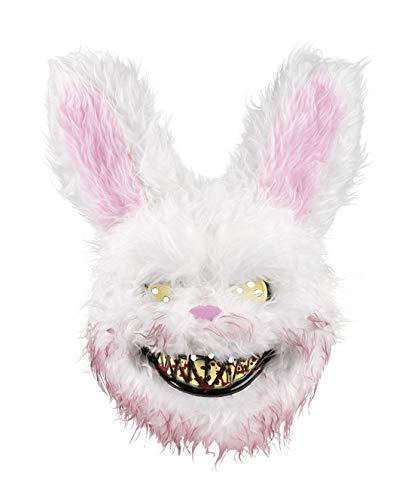 Boland 72213 - Máscara de conejo terror, color blanco