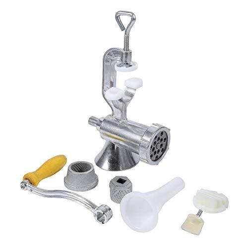 Mehrzweck-Fleischwolf-Küchenmaschine für Fleischwurst-Nudeln Manuelle Haushalts-Multifunktions-Hackfleisch-Einlauf-Pressmaschine