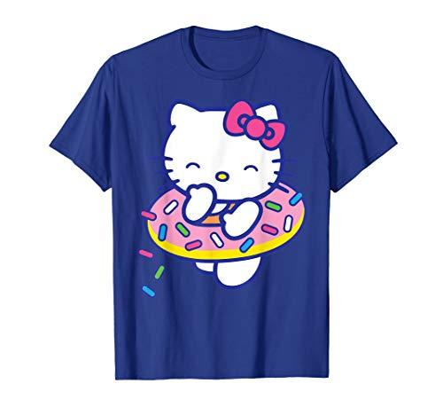 Hello Kitty Donut Sprinkles Floaty Summer Swimming T-Shirt