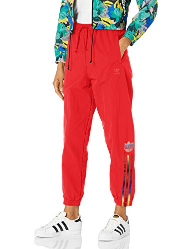 adidas Originals - Pantaloni da donna - rosso - S