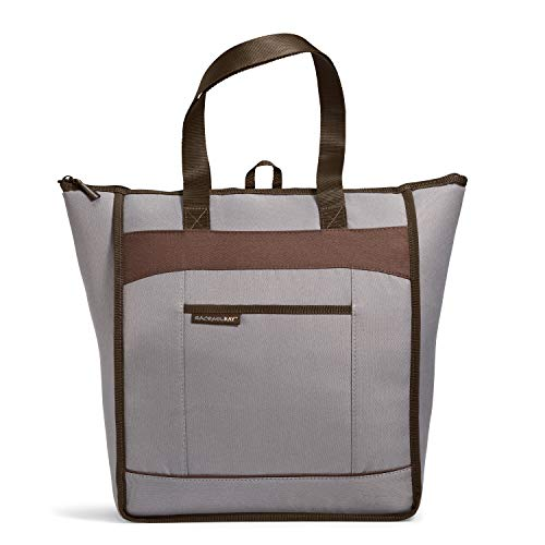 Rachael Ray ChillOut Thermal Tote Bag for Cold or Hot Food, Insulated, Reusable, Sea Salt, 18.5' X 6' X 16.5'