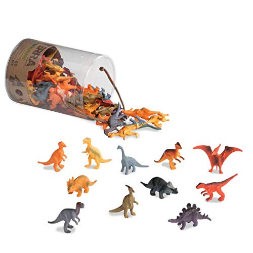 Terra – Dinosaurs Mini Figure Set – 60pcs by Battat