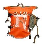 Watershed Aleutian Waterproof UV-Resistant ZipDry Kayak Deck Bag, Orange