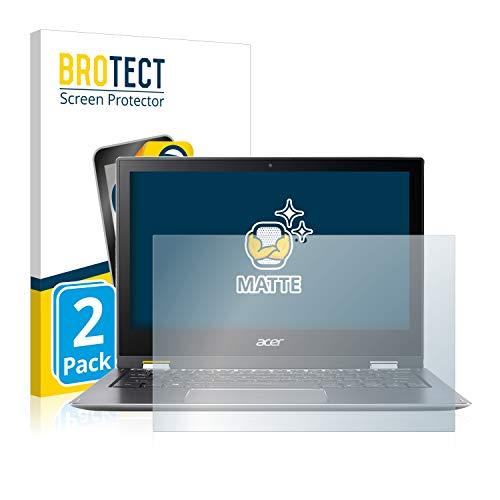 BROTECT 2X Entspiegelungs-Schutzfolie kompatibel mit Acer Spin 1 SP111-32N Displayschutz-Folie Matt, Anti-Reflex, Anti-Fingerprint