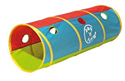 Great fun pop up play tunnel Includes holes to post balls through promotes physical activity Quick and easy to assemble Suitable for indoor and outdoor use Size(L x W x D): 120 x 42 x 42cm Fun pop up play tunnel Includes holes to post balls through p...