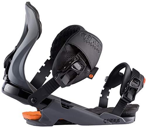 Rossignol Cobra Mens Snowboard Bindings Grey M/L (8+)