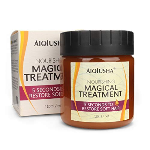 Nourishing Hydrating Argan Oil Hair Mask and Deep Conditioner for Dry and Damaged Hair, Magical Hair Treatment Mask for a Softer, Silkier and Healthier Looking Hair - 120ml