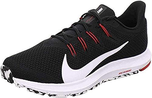 Nike Quest 2 Running Shoe - Men's (10.5, Black/Red)
