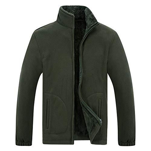 Chaqueta de los hombres de la transición chaqueta caliente terciopelo cremallera manga larga primavera y otoño caballero elegante color sólido clásico todo partido chaqueta de los hombres