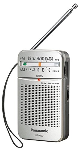 Pasa el Ratón por Encima de la Imagen para ampliarla Panasonic RF-P50D Portátil Digital Plata - Radio (Portátil, Digital, Am,FM, 87-108 MHz, 520-1730 Khz, 0,15 W)