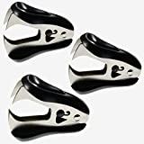 WEKOIL Staple Remover Staple Removal Tool for School Office Home Pack of 3,Black