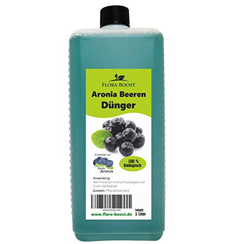 Konfitee Aronia Pflanzen Dünger - Flüssigdünger für Aroniapflanzen (1000 ml)