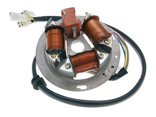 Magnetzündung mit Grundplatte 12V Ersatzteil für/kompatibel mit Simson S51, S53, S70, S83, SR50, SR80