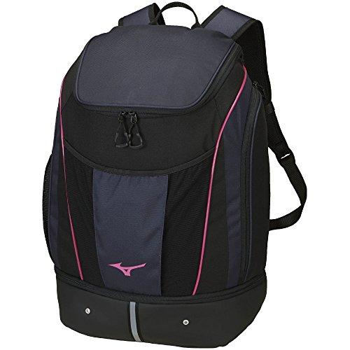 MIZUNO(ミズノ) プールバッグ プールバッグ バックパック 容量:35L N3JD800087 サイズ: ネイビー×ピンク N3JD8000 87:ネイビー×ピンク