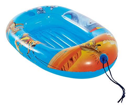 Lively Moments Aufblasbares Boot / Kinderboot / Schlauchboot Down Under mit australischen Tieren ca. 95 x 60 cm aufgeblasen