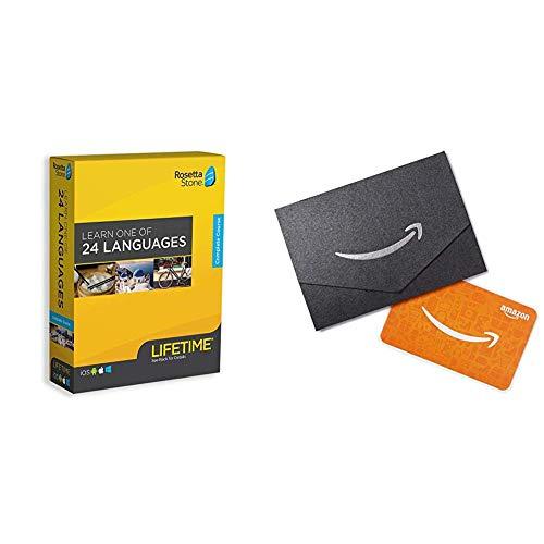 Rosetta Stone Lifetime Access + $20 Amazon Gift Card