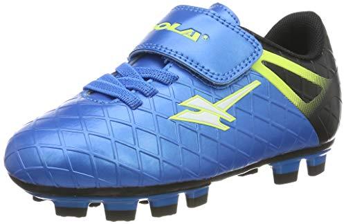 Gola Ativo 5 Fußballschuhe für Jungen und Mädchen, Blau - blau / schwarz - Größe: 28 EU