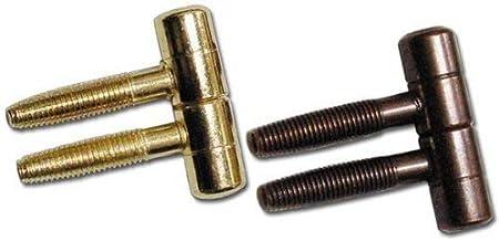 """Deurscharnier """"Anuba"""" cf. 10 stuks (grootte 14 mm, bronzerd)"""
