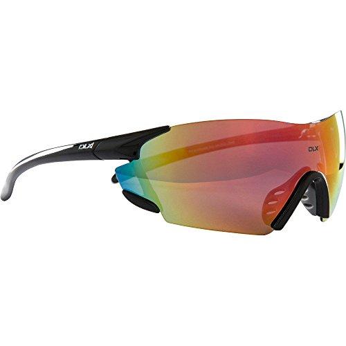 Trespass DLX Amp, lentes polarizadas de categoría 3 con protección UV, estuche rígido y paño de limpieza, color negro