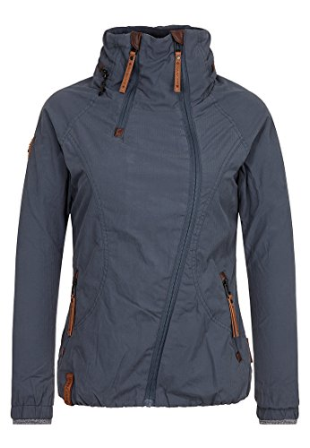 Naketano Damen Jacke Forrester Jacket, dark bluegrey, L