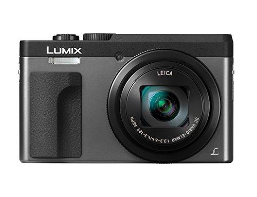 Panasonic Lumix DMC-TZ91-EG-S silber Digitalkamera Set + Tasche + 16 GB Speicherkarte ( 21,1 MP , 30x opt. Zoom (entspricht 24-720 mm) 4K Video, WiFi, Beauty Retouch, Clear Retouch (silber)
