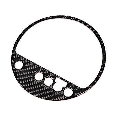 Schalttafelverkleidung, Zahnrad Aufkleber Dekoration aus echtem Carbon, passend für TT 8n 8J MK123 TTRS 2008-2014