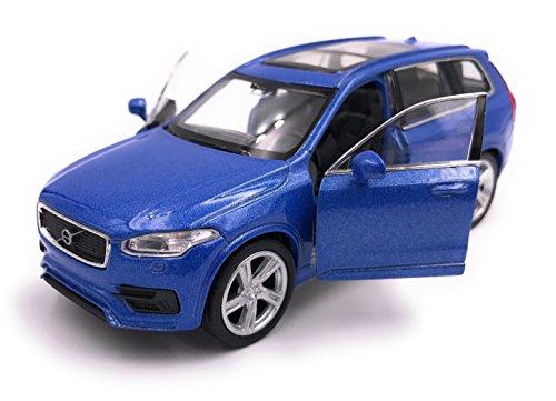 H-Customs Volvo XC 90 Modelauto gelicentieerd product 1:34-1:39 blauw