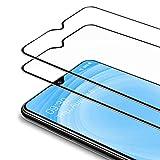 Bewahly Panzerglas Schutzfolie für Samsung Galaxy A10 [2 Stück], 9H Festigkeit Panzerglasfolie Ultra Dünn HD Bildschirmschutzfolie Vollständige Abdeckung Glas Folie für Samsung Galaxy A10 - Schwarz
