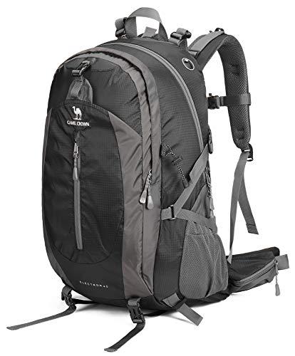 CAMEL CROWN 30L/40L Waterproof Hiking Backpack Travel Daypack Backpacks Trekking