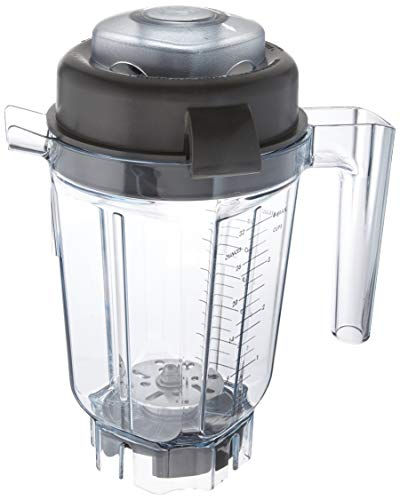 Vitamix 62947 32 oz Container-Compact & Stackable with Aerating Blade Asse, Clear