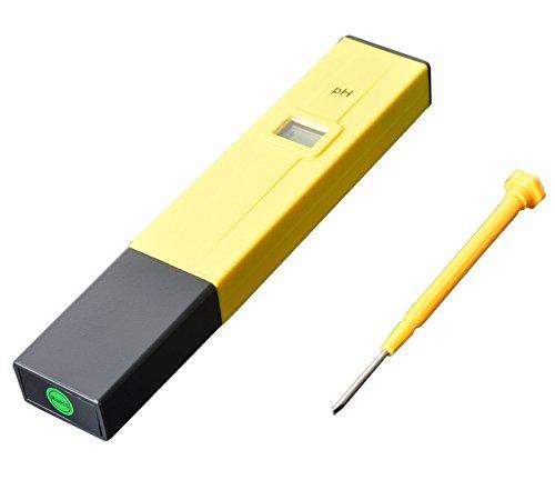 Poche stylo PH Mètre Testeur digital PH-009 IA 0.0–14.0pH d'eau pour aquarium eau de piscine de laboratoire ph014