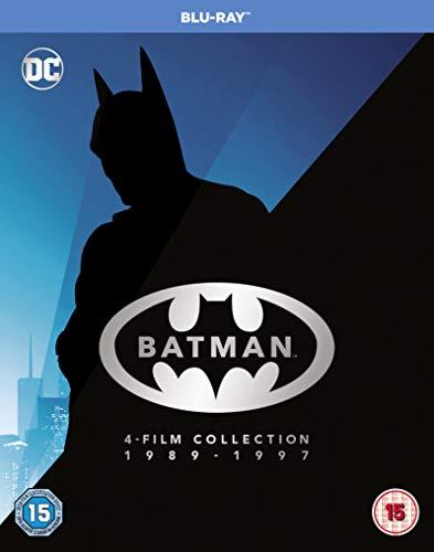 Batman Legacy - Batman, Batman Returns, Batman Forever, Batman and Robin [Blu-ray] [UK Import]