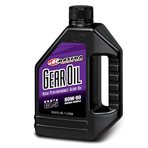 Maxima 43901 80W90 Premium Gear Oil – 1 Liter Bottle