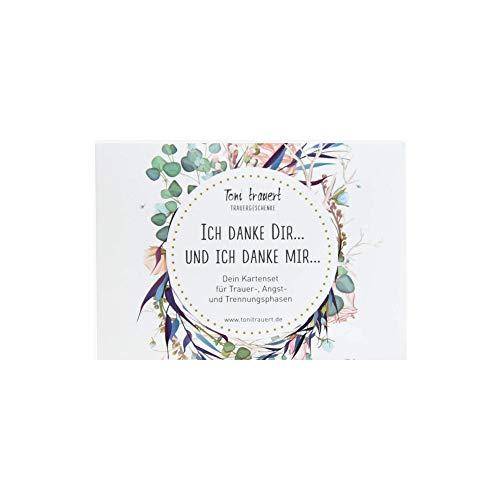TONI TRAUERT KARTENDECK - Coaching Karten und Impuls Karten der einzigartigen Art, mit 28 Bildkarten Coaching - Kartendeck spirituell - Hilf dir Selbst Kartenset - Selbst Coaching