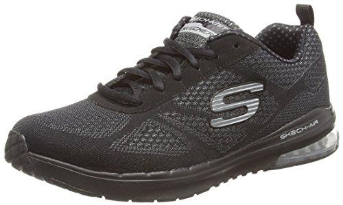 Skechers Damen Skech-Air Infinity Sneaker, Schwarz (BBK), 37 EU