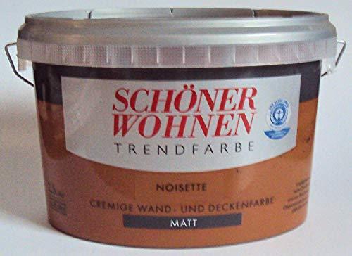 2,5 L Schöner Wohnen Trendfarbe, Wandfarbe, Noisette Matt