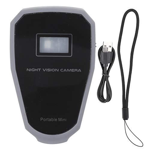Shanrya Infrarot-Nachtsichtkamera-Detektor Infrarot- -Videokamera-Detektor Schützen Sie Ihre Intimität für die Heimarbeit Büro-Lochkameras