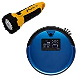 Toucan City LED Flashlight and bObsweep PetHair Plus Robotic Vacuum Cleaner...