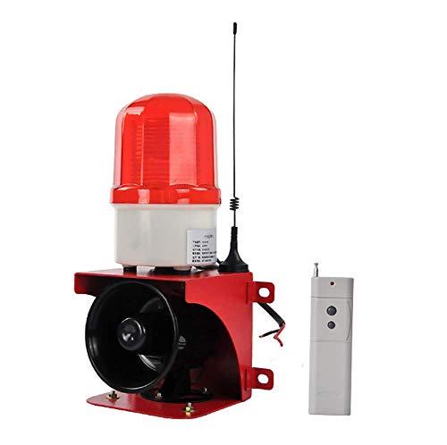 KEKE Sirene die Alarmanlage,High Sound Elektrische Hupe, Alarm Bewegungsmelder, Erweiterbar Alarmmodus