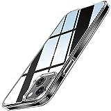 TENDLIN Compatible con Funda iPhone 13 Mini [Anti-Amarilleo] Transparente Espalda Dura y Parachoques Suave Delgado Protector Carcasa iPhone 13 Mini 5.4'' - Clara