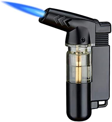 Yeuligo Torch Lighters Butane Lighter with Visible Window and Key Ring Adjustable and Windproof product image