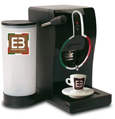 Macchina per espresso EB ITA TUBE (NEW) - Espresso Bolognese + 50 EB RED Chialde (Omaggio)