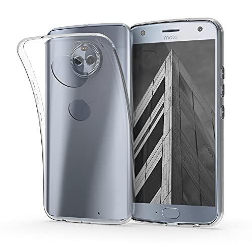 kwmobile Hülle kompatibel mit Motorola Moto X4 - Silikon Handyhülle transparent - Handy Hülle in Transparent