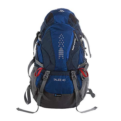 PPMM 40L Camping Hiking Backpack Internal Frame Backpack Waterproof Traveling Daypack High-Performance Backpack for Backpacking, Hiking, Camping(3 Colors),Blue