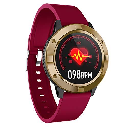 Q10 Smart Watch, Braccialetto Sportivo, Schermo A Colori Touch Completo, Monitoraggio della Frequenza Cardiaca Sleeping Waterproof Smart Watch, Adatto per Android iOS,B