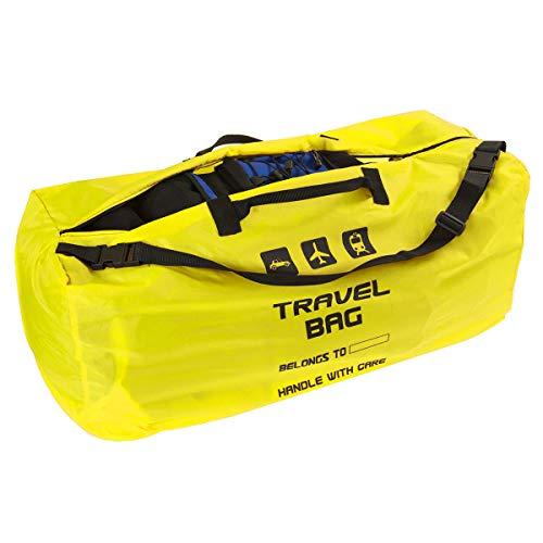 Rugzakhoes voor het vliegtuig, reistas voor rugzak, afmetingen 60 – 90 liter, transporttas, backpack, draagtas, perfect op het vliegveld bij het inchecken van trein, autoritten [085]