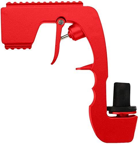 FXBFAG Champán Bubbly Blaster Gun Tapón de vino Champán Dispensador de vino botella de cerveza eyector de alimentación para boda, fiesta, club nocturno barra herramienta/rosa (color: rojo)